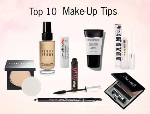 Top 10 Make-up Tips