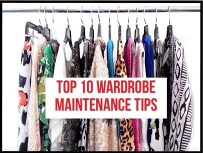 Top 10 Wardrobe Maintenance Tips