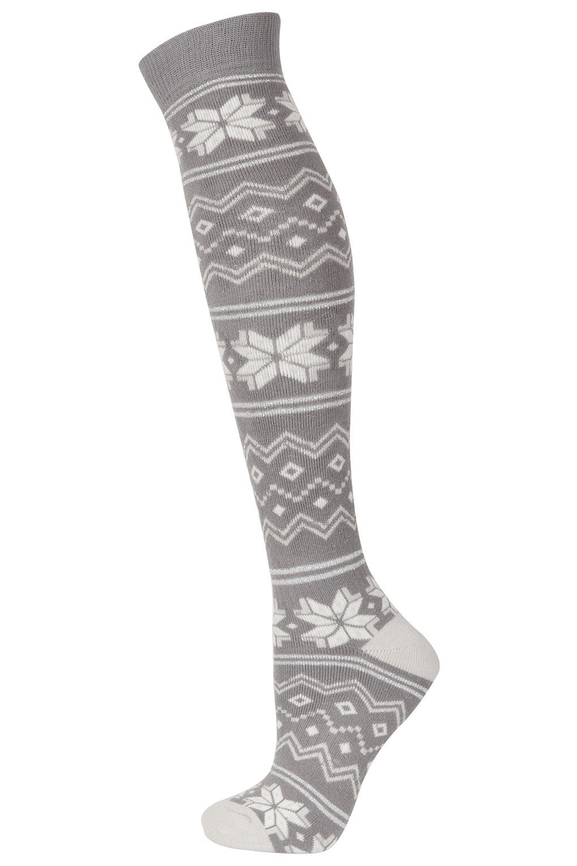 SNO Jacquard print socks, £10
