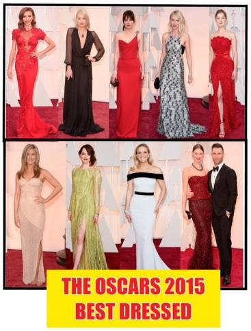 The Oscars 2015 Best Dressed